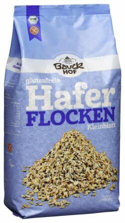Bauckhof Haferflocken Kleinblatt glutenfrei Bio 4x1kg