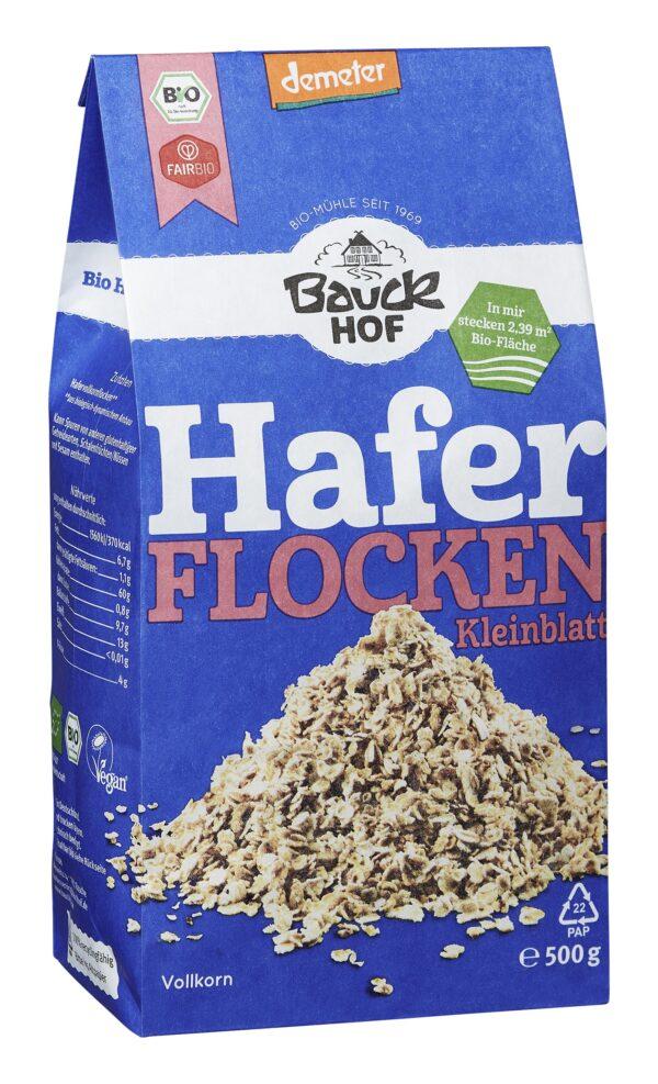 Bauckhof Haferflocken Kleinblatt Demeter 500g