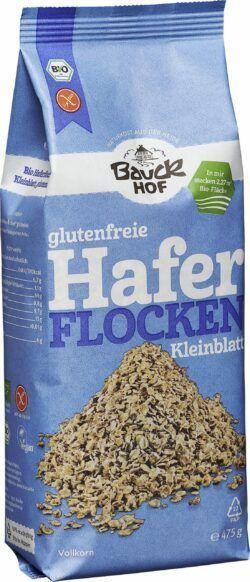 Bauckhof Haferflocken Kleinblatt glutenfrei Bio 6x475g