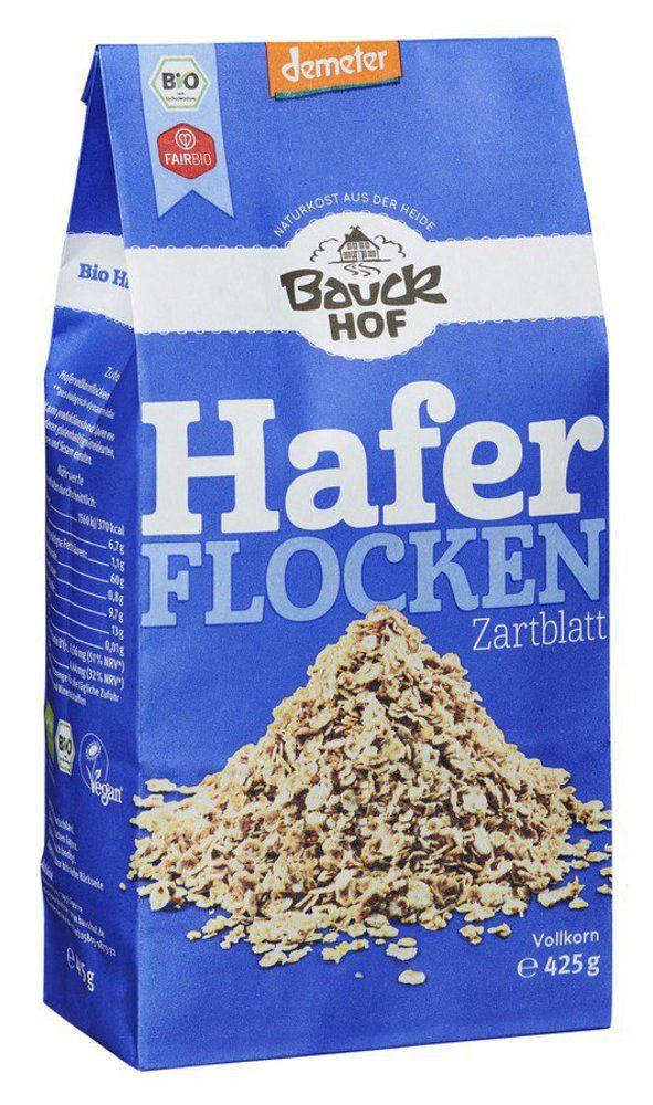 Bauckhof Haferflocken Zartblatt Demeter 8x425g