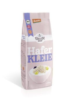 Bauckhof Haferkleie glutenfrei Demeter 6x300g