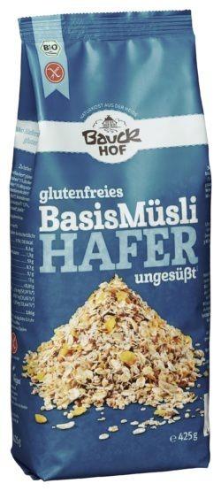 Bauckhof Hafermüsli Basis Bio glutenfrei 6x425g