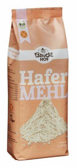 Bauckhof Hafermehl Vollkorn glutenfrei Bio 6x350g