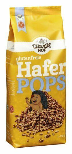 Bauckhof Haferpops mit Honig glutenfrei Bio 6x150g