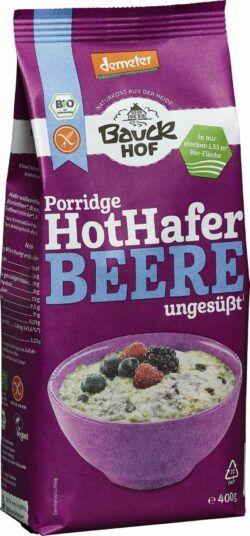 Bauckhof Hot Hafer Beere glutenfrei Demeter 6x400g