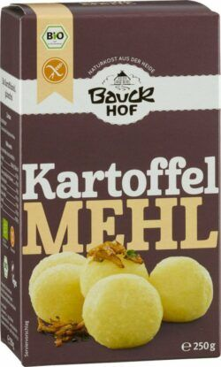 Bauckhof Kartoffelmehl (Stärke) glutenfrei Bio 6x250g