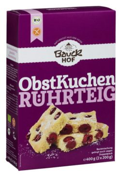 Bauckhof Obstkuchen Rührteig glutenfrei Bio 6x400g