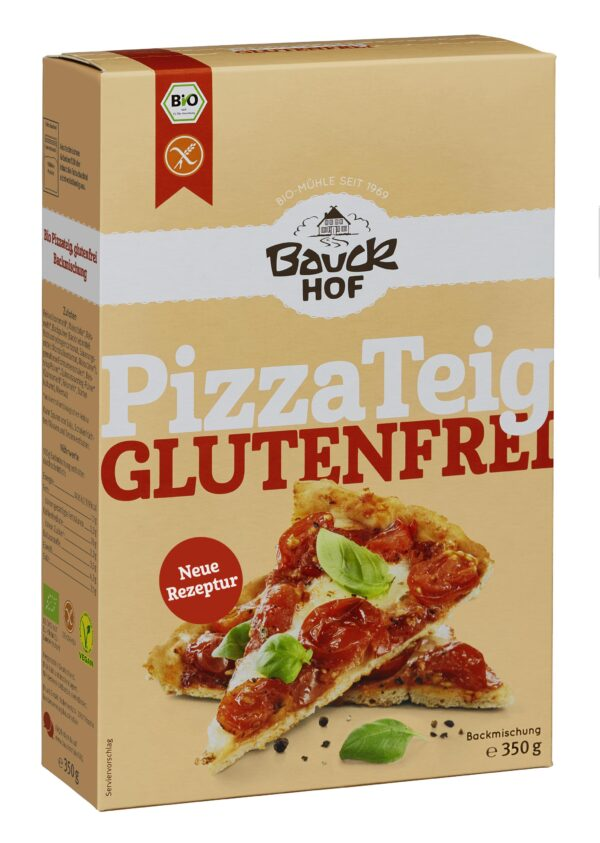 Bauckhof Pizzateig glutenfrei Bio 6x350g