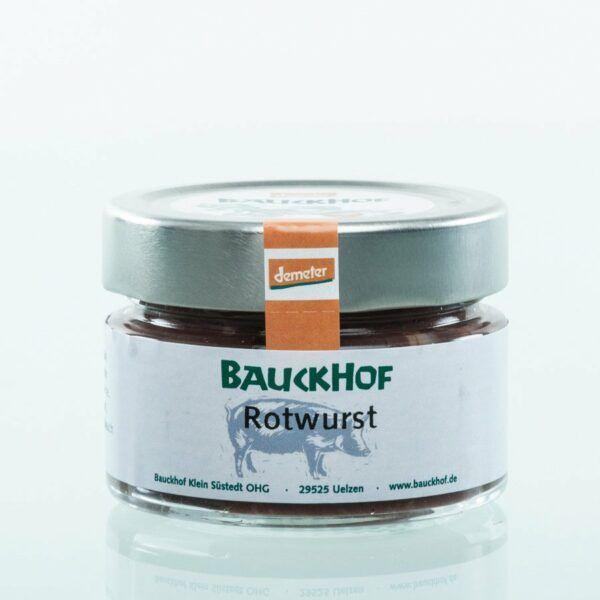 Bauckhof Rotwurst 6x100g