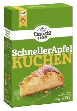 Bauckhof Schneller Apfelkuchen glutenfrei Bio 6x500g