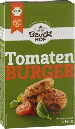 Bauckhof Tomaten Burger mit Basilikum glutenfrei Bio 6x140g