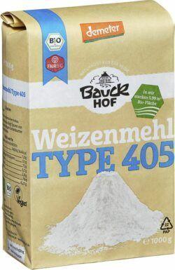 Bauckhof Weizenmehl Type 405 Demeter 8x1000g