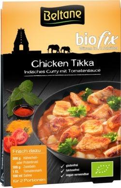 Beltane Biofix Chicken Tikka, vegan, glutenfrei, lactosefrei 10x25,1g
