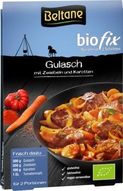 Beltane Biofix Gulasch, vegan, glutenfrei, lactosefrei 10x17,4g