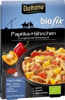 Beltane Biofix Paprika Hähnchen, vegan, glutenfrei, lactosefrei 10x19,2g
