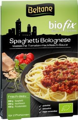 Beltane Biofix Spaghetti Bolognese, vegan, glutenfrei, lactosefrei 10x27g