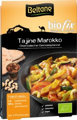 Beltane Biofix Tajine Marokko, vegan, glutenfrei, lactosefrei 10x23,6g
