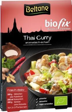 Beltane Biofix Thai Curry, vegan, glutenfrei, lactosefrei 10x20,9g