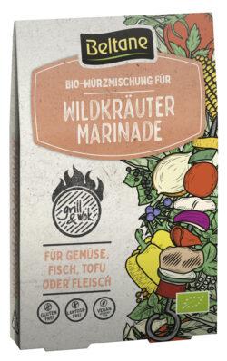 Beltane Grill&Wok Würzmischung für Wildkräuter Marinade, vegan, glutenfrei, lactosefrei 10x29,7g