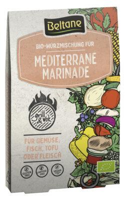 Beltane Grill&Wok Würzmischung für Mediterrane Marinade, vegan, glutenfrei, lactosefrei 10x29,4g