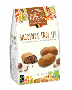 Belvas Hazelnut truffles praliné 6x100g