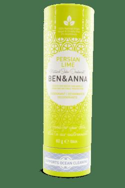 Ben&Anna Natural Care Ben&Anna Deodorant Papertube Persian Lime 60g
