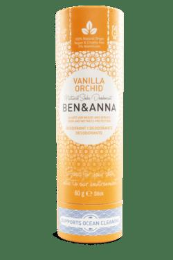 Ben&Anna Natural Care Ben&Anna Deodorant Papertube Vanilla Orchid 60g