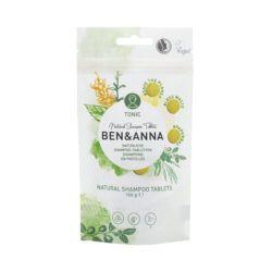 Ben&Anna Natural Care Shampootablets Tonic 10x120g