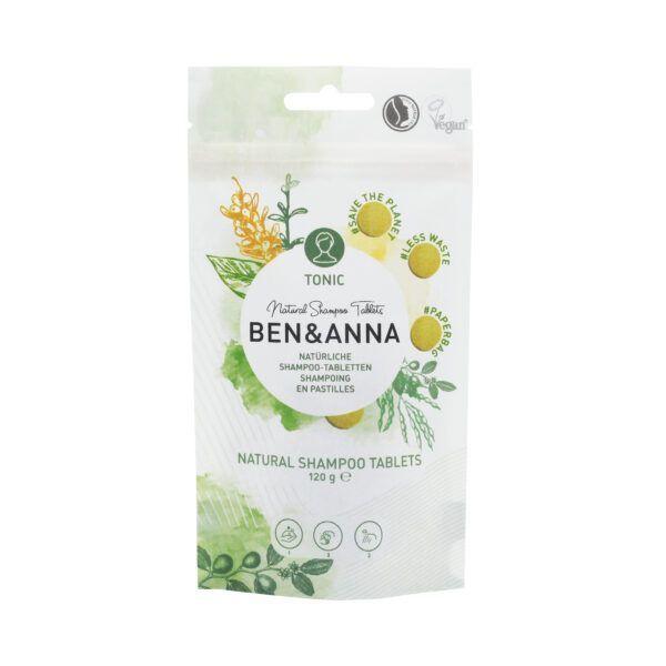 Ben&Anna Natural Care Shampootablets Tonic 120g