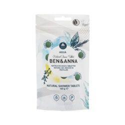 Ben&Anna Natural Care Showertablets Aqua 120g