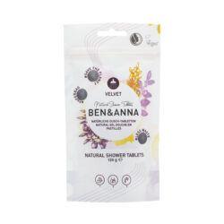 Ben&Anna Natural Care Showertablets Velvet 120g