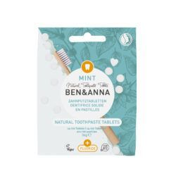 Ben&Anna Natural Care Toothcare Tablets with Fluoride 36g