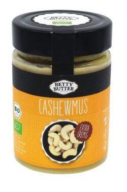 Betty Butter Cashewmus aus gerösteten und geschälten Cashewnüssen 6x330g