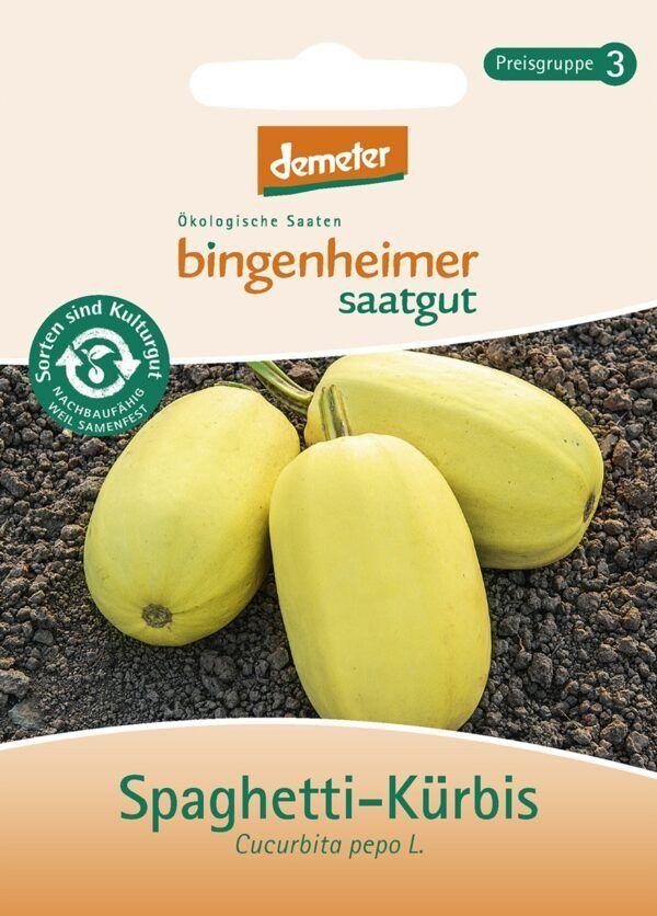 Bingenheimer Saatgut AG Spaghetti-Kürbis (Saatgut) 5x1Stück