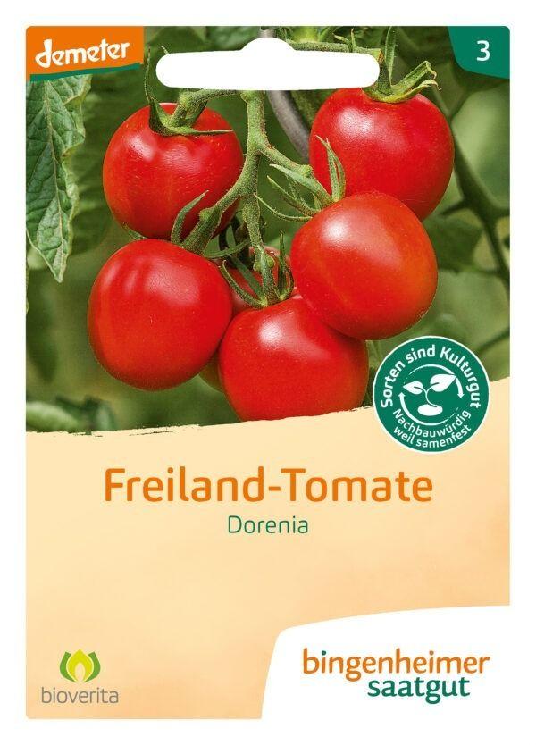 Bingenheimer Saatgut Dorenia - Tomate (Saatgut) 5x1Stück