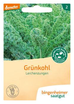 Bingenheimer Saatgut Grünkohl Lerchenzungen 5x1Stück
