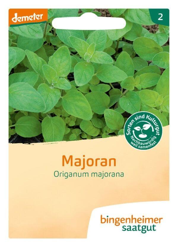 Bingenheimer Saatgut Majoran - Kräuter (Saatgut) 5x1Stück