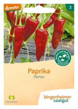 Bingenheimer Saatgut Pantos - Paprika (Saatgut) 1Stück