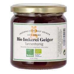 Bio Imkerei Geiger Tannenhonig 6x500g