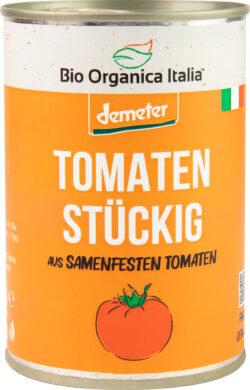 Bio Organica Italia Tomaten stückig aus samenfesten Tomaten 12x400g