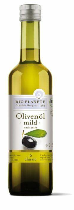 BIO PLANÈTE Olivenöl mild nativ extra 0,5l