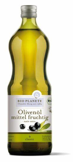 BIO PLANÈTE Olivenöl mittel fruchtig nativ extra 1l