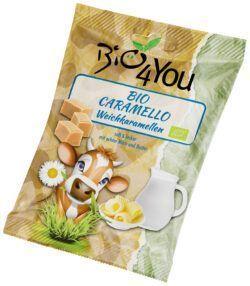 Bio4You Bonbons Caramello, Weichkaramelle 18x120g