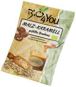 Bio4You Malz-Karamell-Bonbon, gefüllt 20x75g