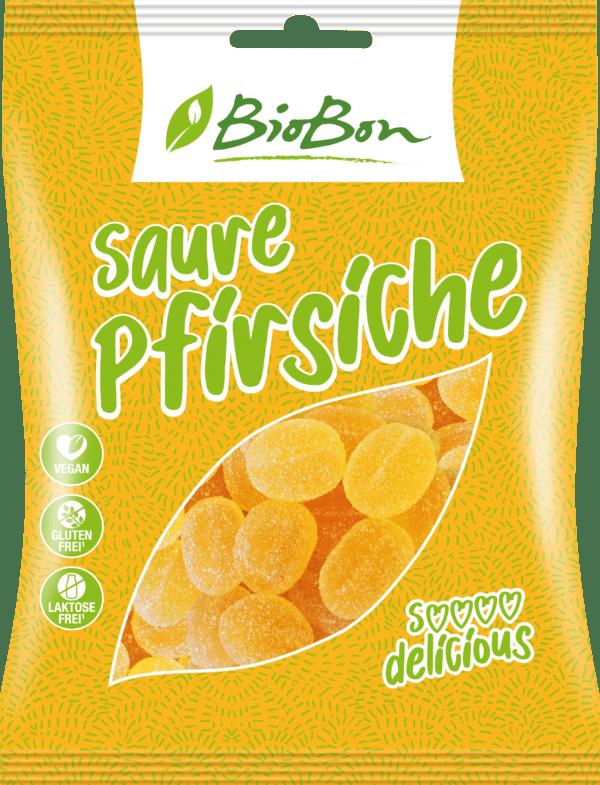 BioBon Saure Pfirsiche 10x100g