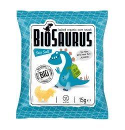 BioSaurus Bio Snack aus Mais Sea Salt