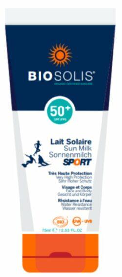 BioSolis Sonnencreme SPORT Extreme LSF50 75ml