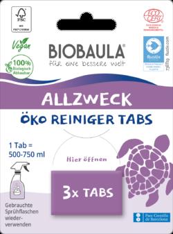 Biobaula Öko-Reiniger-Tabs Allzweck 8x3Stück