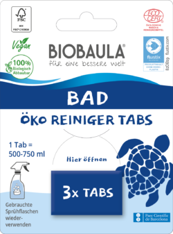 Biobaula Öko-Reiniger-Tabs Bad 8x3Stück