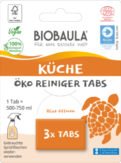 Biobaula Öko-Reiniger-Tabs Küche 8x3Stück